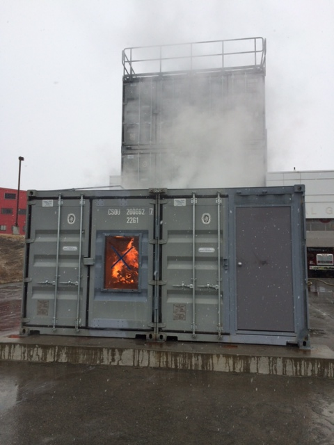 "Fire Training Facility"" for Anchorage Airport Police & Fire Department"